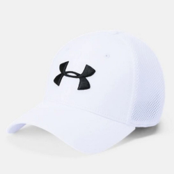 UNDER ARMOUR Men's TB Classic Mesh Cap White