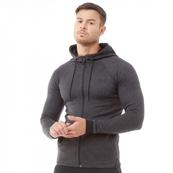 Mikina UNDER ARMOUR Men's Unstoppable Double Knit Full Zip Black
