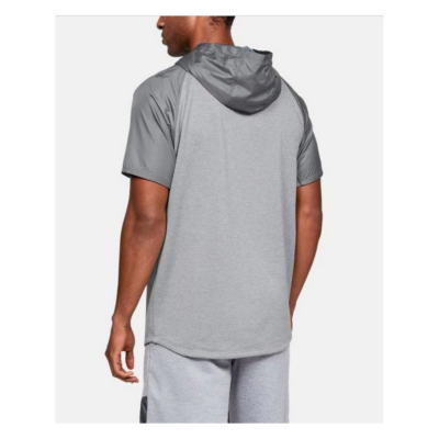 UNDER ARMOUR MK1 Terry SS Hood Gray