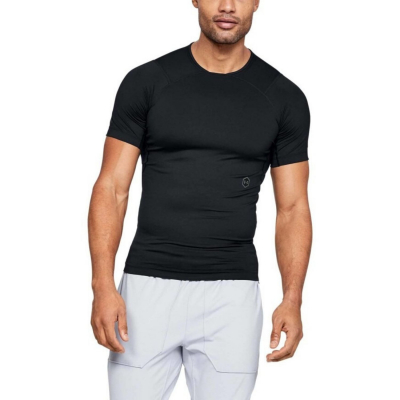 UNDER ARMOUR Rush Compression SS Black