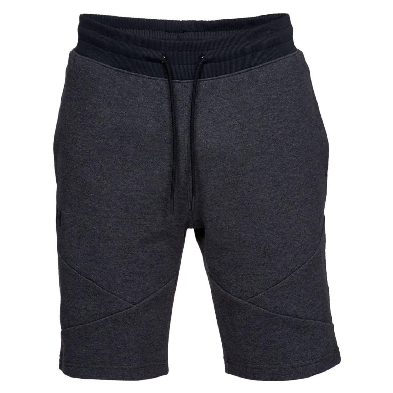 Kraťasy UNDER ARMOUR Unstoppable Double Knit Shorts Black Čierna XL