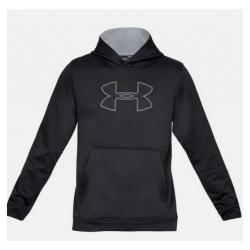 UNDER ARMOUR Men's Big Logo Hoodie Black