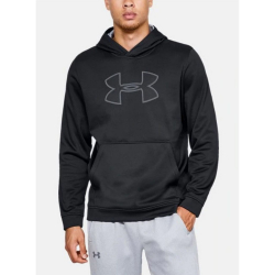Mikina UNDER ARMOUR Men's Big Logo Hoodie Black
