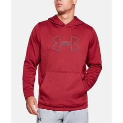 Mikina UNDER ARMOUR Men's Big Logo Hoodie Red
