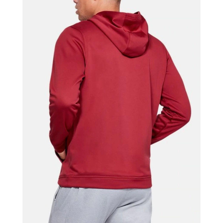 Mikina UNDER ARMOUR Men's Big Logo Hoodie Red Červená XL