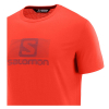 SALOMON Blend Logo SS Tee M Fiery Red