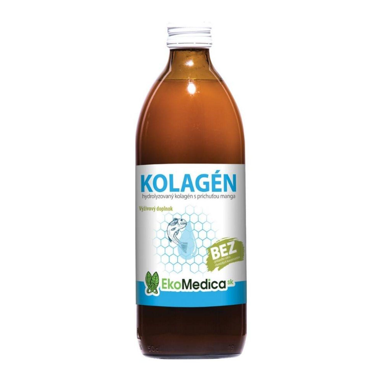 EkoMedica Kolagén 100% šťava 500 ml 500 ml