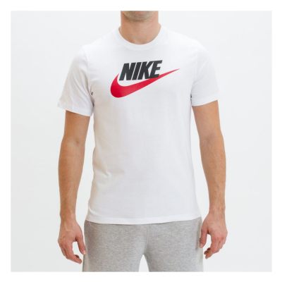 NIKE M NSW Tee Icon Futura White