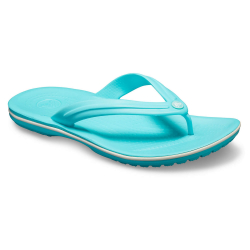 CROCS Crocband Flip Pool/White