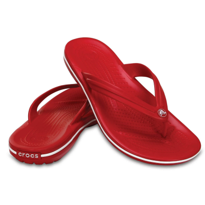 CROCS Crocband Flip Red