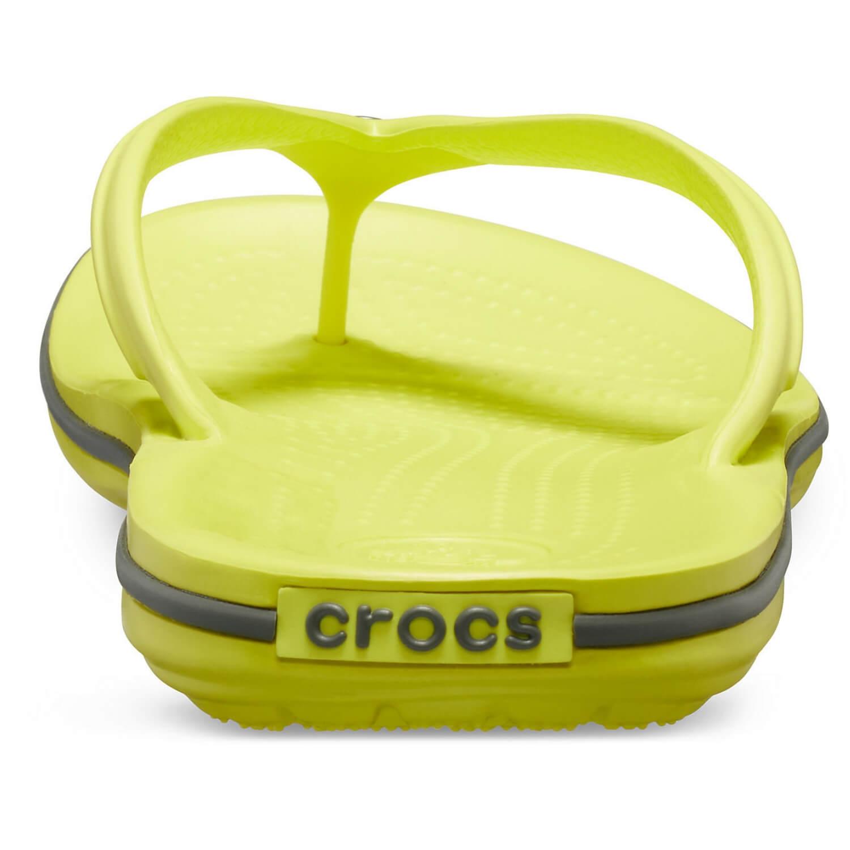 CROCS Crocband Flip Lime Limetková EU 41-42