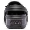 CROCS Crocband Platform Metallic Blooms Clog Black