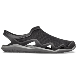 Sandále CROCS Swiftwater Mesh Wave M Black/Slate Grey