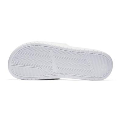 NIKE Benassi JDI White/Varsity Royal