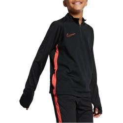 Tričko s dlhým rukávom NIKE Dry Academy Dril Black