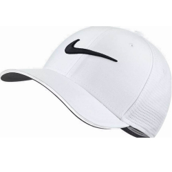 569ec4bb7 NIKE Unisex AeroBill Classic99 Golf Hat White/Anthracite/Black