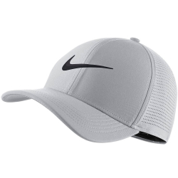 NIKE Unisex AeroBill Classic99 Golf Hat Grey/Anthracite/Black