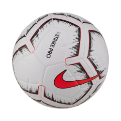 Fotbalový míč NIKE Strk Pro White/Bright Red