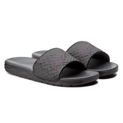 NIKE Benassi Solarsoft Slide 2 Black/Anthracite