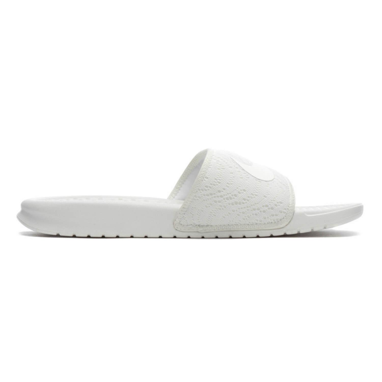 Šľapky NIKE Benassi Textile White Biela 42