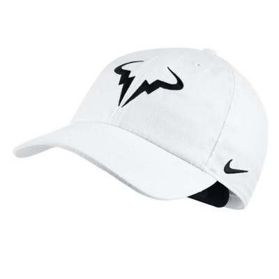 NIKE Rafa Court Aerobill H86 White/Black