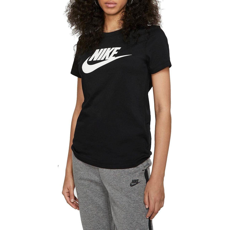 Tričko NIKE NSW Just Do It Swoosh Black Čierno-biela L