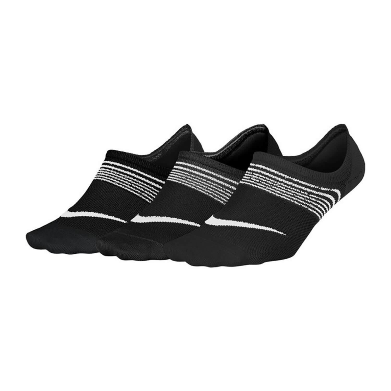 Ponožky NIKE Everyday Black/White 3-pack Čierna 38-42