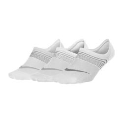NIKE Everyday White/Wolf Grey 3-pack