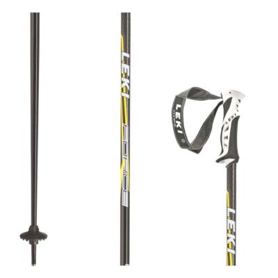 Lyžiarske palice LEKI Force Black/Yellow