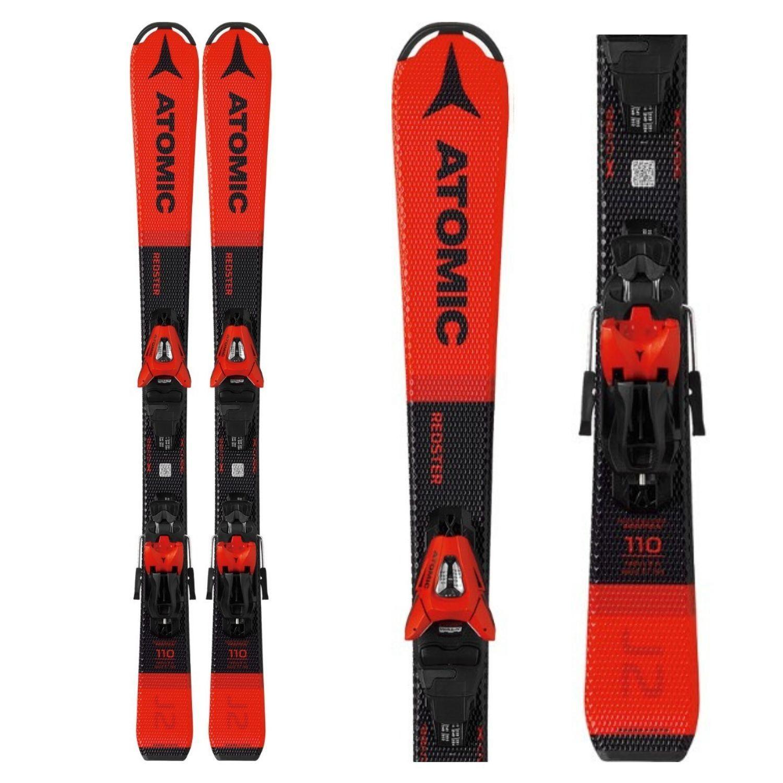 Detské lyže ATOMIC Redster J2 100-120 + C 5 GW Červená 110 cm