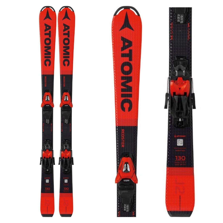 Detské lyže ATOMIC Redster J2 130-150 + C 5 GW Červená 130 cm