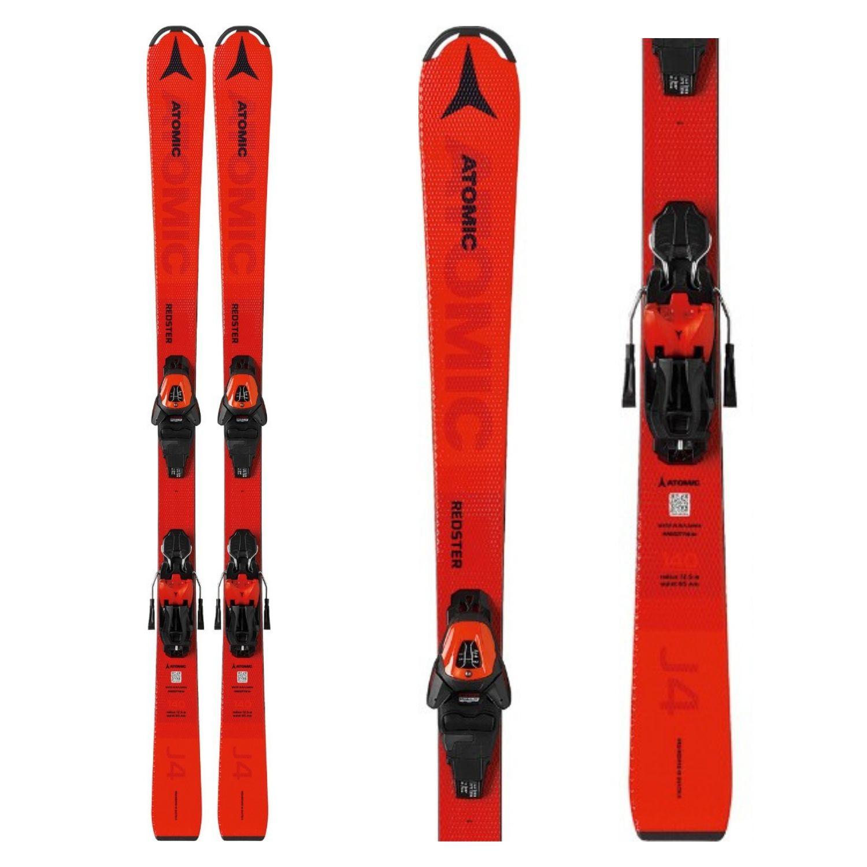 Zjazdové lyže ATOMIC Redster J4 + L 6 GW Červená 140 cm