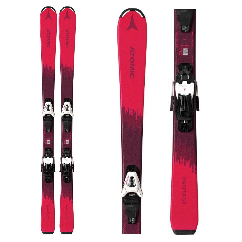 Zjazdové lyže ATOMIC Vantage Girl X 130-150 + C 5 GW Ružová 140 cm