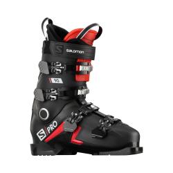 Lyžiarky SALOMON S/Pro 90 Black/Red