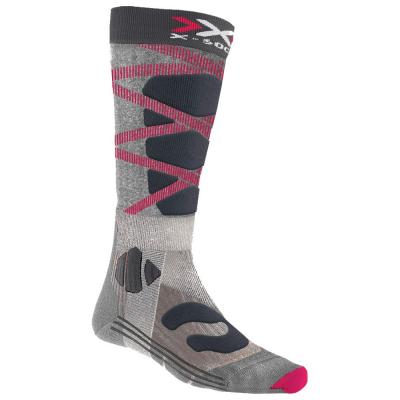 Podkolienky X-SOCKS Ski Control 4.0 Pink