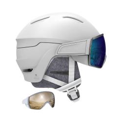 Lyžiarska prilba SALOMON Mirage White/Blue Solar