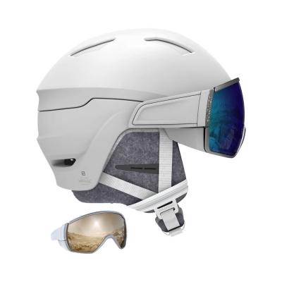 SALOMON Mirage White/Blue Solar