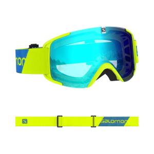 Lyžiarske okuliare SALOMON X-View Neon Yellow/Univ Mid Blue