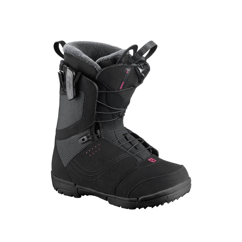Snowboardová obuv SALOMON Pearl Black Čierna 26.0