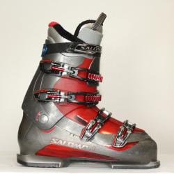 Jazdené bazarové lyžiarky SALOMON Mission 770 grey