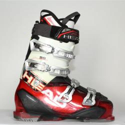 Jazdené bazárové lyžiarky HEAD Next Edge 90 red