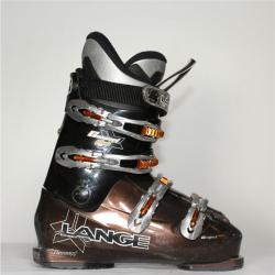 Jazdené bazárové lyžiarky LANGE Concept plus brown II