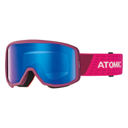 Lyžiarske okuliare ATOMIC Count JR Cylindrical Berry/Pink