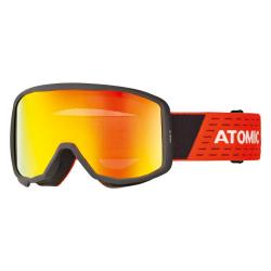 Lyžiarske okuliare ATOMIC Count JR Cylindrical Black/Red