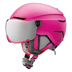 Lyžiarska prilba ATOMIC Savor Visor Stereo JR Pink