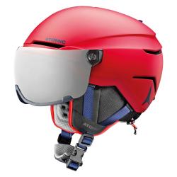 Lyžařská helma ATOMIC Savor Visor Stereo JR Red