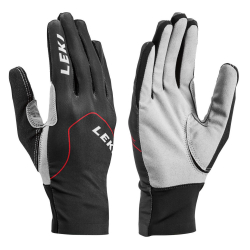 LEKI Nordic Skin Black/Red/Graphite