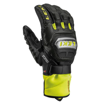 LEKI Worldcup Race Ti S Speed System Black/Ice Lemon
