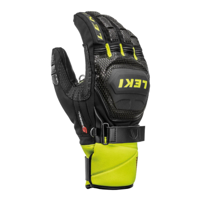 LEKI Worldcup Race Coach Flex S GTX Black/Ice Lemon