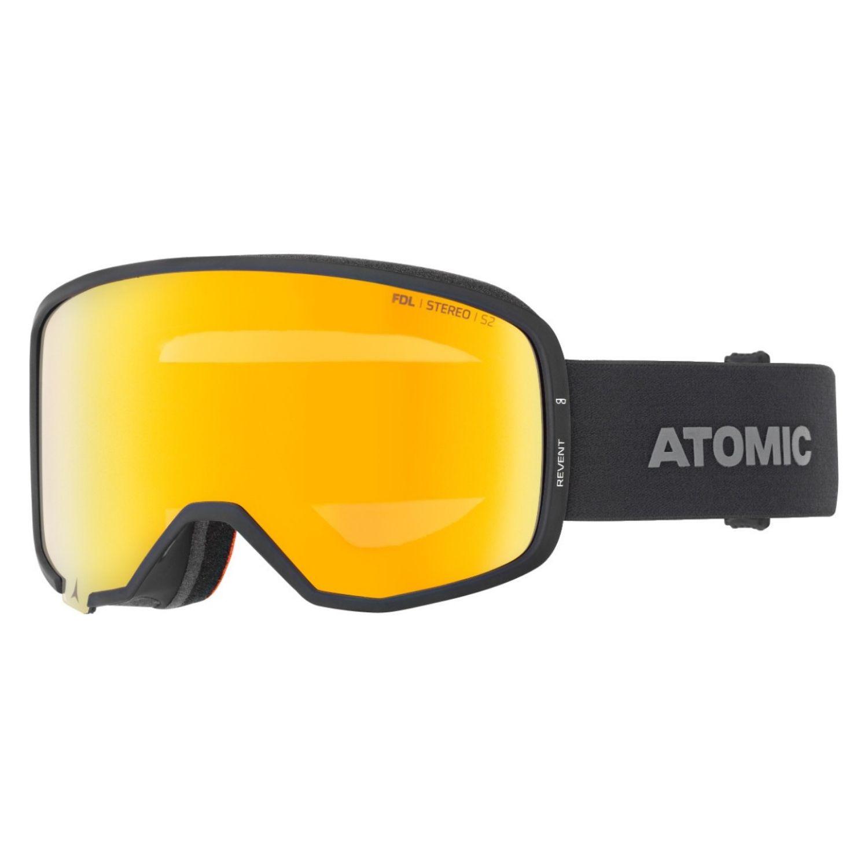 Lyžiarske okuliare ATOMIC Revent Stereo OTG Black Veľký rám
